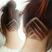 Image 6: linear undercut hidden hair tattoo