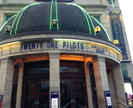 josh dun huns, twenty one pilots London 59